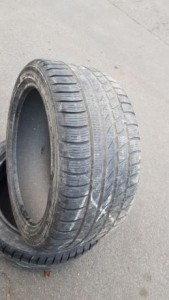 ПАРА 255/40 R18 HANKOOK Зимние шины Winter Icebear W300
