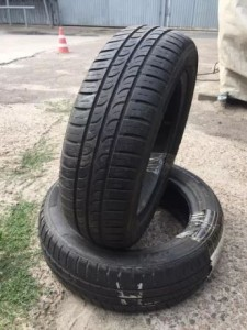 Шины Пара 165/60/R-14 HANKOOK optima k 719 летняя резина склад шин бу